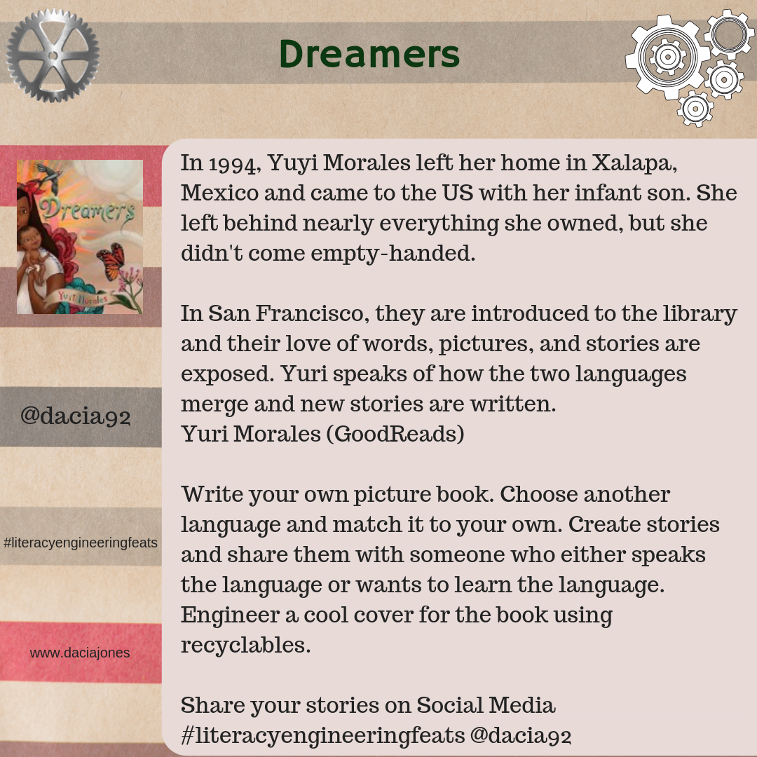 Dreamers. Write your own picture book.